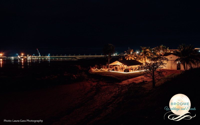 Weddings and events in Broome