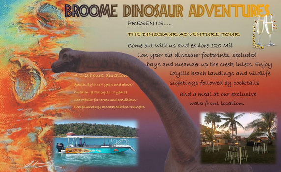 Dinosaur Adventure Tour Broome